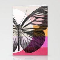 eric fan Stationery Cards featuring Flight by Eric Fan & Garima Dhawan by Garima Dhawan