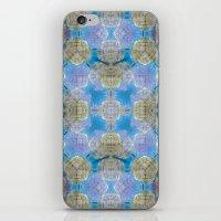 finland iPhone & iPod Skins featuring Finland Kaleidoscope by Lu Haddad