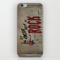 acdc iPhone & iPod Skins featuring For Those About To Rock by Even In Death