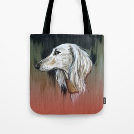 Saluki I - Illustrious dogs. Tote Bag