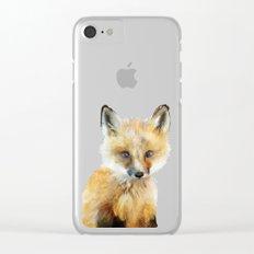 Little Fox Clear iPhone Case