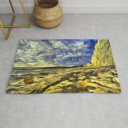 Birling Gap And Seven Sisters Van Gogh Rug