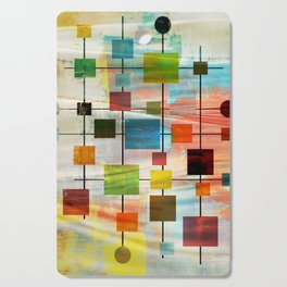 Mid-Century Modern Art 1.3 -  Graffiti Style Cutting Board