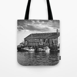 They Also Faced The Sea Tote Bag