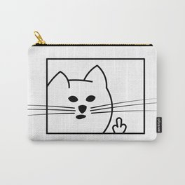 Rough Cat Carry-All Pouch