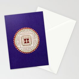 Mandana Art - Feets of Goddess Stationery Cards