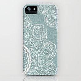 Mandala of Blue Dreams iPhone Case