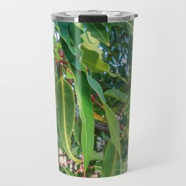 Flowering Gum 0. Leaves. Australia. Travel Mug