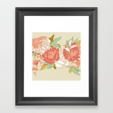 garden party Framed Art Print