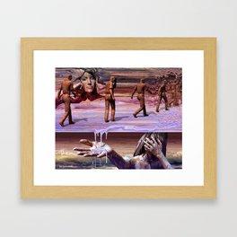 Parade Of Regrets Framed Art Print