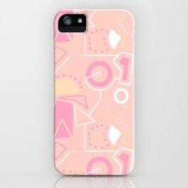 Graze Maze Peach iPhone Case