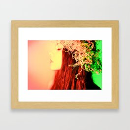 Coral Queen Framed Art Print