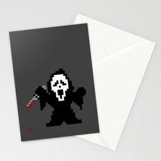 Scream Pixels Stationery Cards