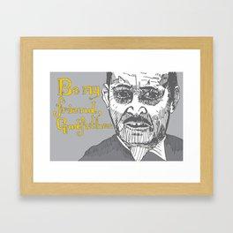 The Godfather pt I Framed Art Print