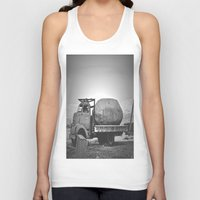 potato Tank Tops featuring Spud Potato by Jane Lacey Smith