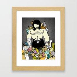 138 Cats Framed Art Print