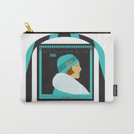 Art Deco Magazine Carry-All Pouch