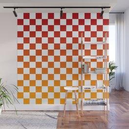 Chessboard Gradient Wall Mural