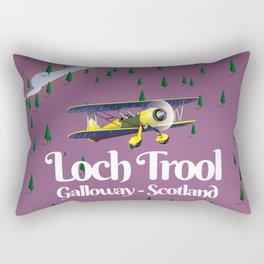 loch trool , galloway, scotland Rectangular Pillow