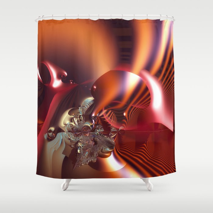 Complex fantasy Shower Curtain