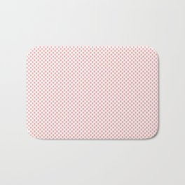 Strawberries N Cream Popsicle Pattern Bath Mat