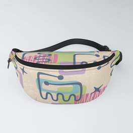Mid Century Modern Abstract Pattern 732 Fanny Pack