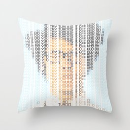 The IT Crowd Throw Pillow