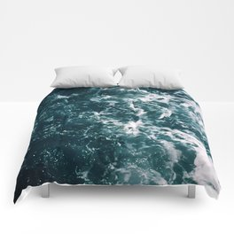 Turbulent Waters Comforters
