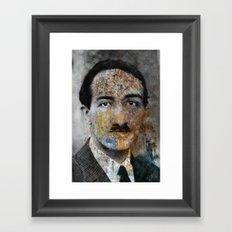 Colorfull Grand'pa Framed Art Print
