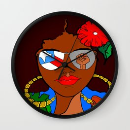 Pride and Culture Wall Clock