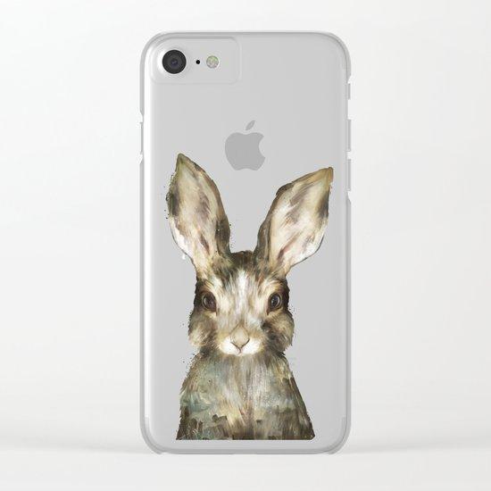 Little Rabbit Clear iPhone Case