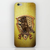 hufflepuff iPhone & iPod Skins featuring Hufflepuff harry potter by JanaProject