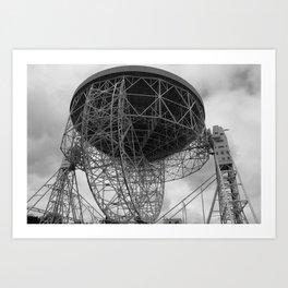 Lovell Telescope at Jodrell Bank Art Print