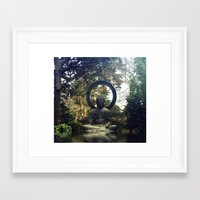 buddah Framed Art Prints featuring buddah by xtinawicki