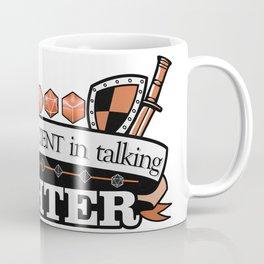 DnD class Fighter Coffee Mug
