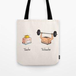 Toaster and Testoaster Tote Bag