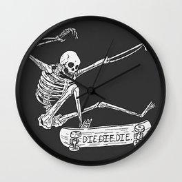 Cool Skeleton Wall Clock