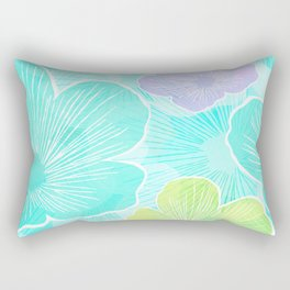 Happy flower Rectangular Pillow