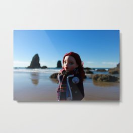 Ello at Cannon Beach Metal Print