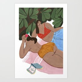 Summah! Art Print