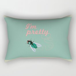 Pretty Fly Rectangular Pillow