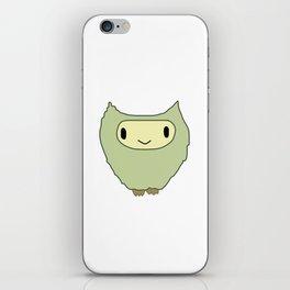 hooter iPhone Skin