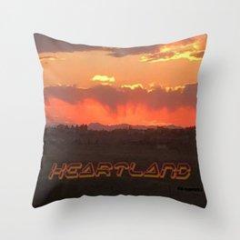Heartland Sunset Throw Pillow