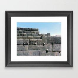 Coricancha, Cuzco 2011 Framed Art Print