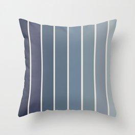 Gradient Arch - Blue Tones Throw Pillow