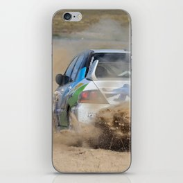 Nathan Quinn - The dust storm iPhone Skin