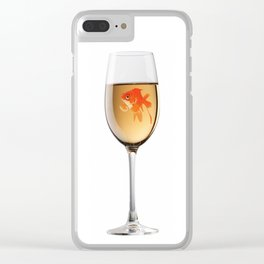 Goldfish Clear iPhone Case