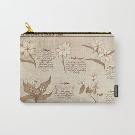 Flowers and Herbs of LOTR Carry-All Pouch