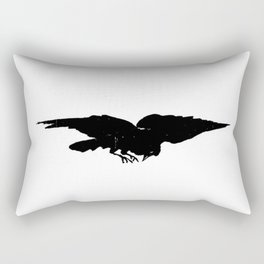 Edouard Manet - The raven by Poe 5 Rectangular Pillow