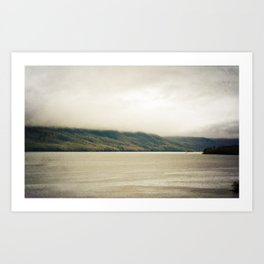 Misty Mountains Art Print